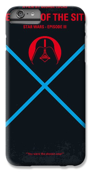 Knight iPhone 8 Plus Case - No225 My Star Wars Episode IIi Revenge Of The Sith Minimal Movie Poster by Chungkong Art