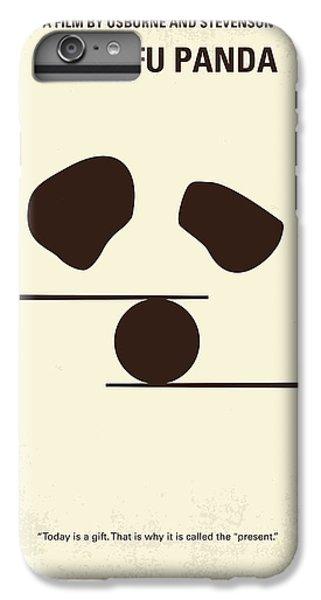 Dragon iPhone 8 Plus Case - No227 My Kung Fu Panda Minimal Movie Poster by Chungkong Art