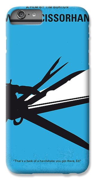 Castle iPhone 8 Plus Case - No260 My Scissorhands Minimal Movie Poster by Chungkong Art