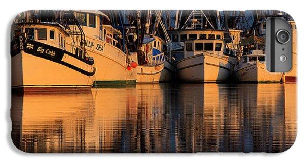 Shrimp Boats iPhone 8 Plus Case - North America, Usa, Georgia, Shrimp by Joanne Wells
