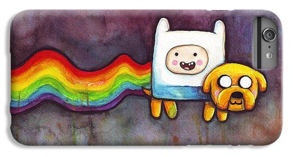 The iPhone 8 Plus Case - Nyan Time by Olga Shvartsur