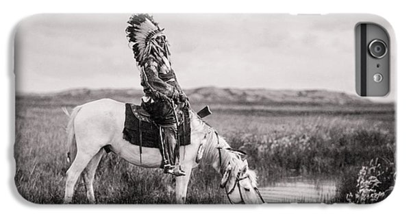 Horse iPhone 8 Plus Case - Oglala Indian Man Circa 1905 by Aged Pixel