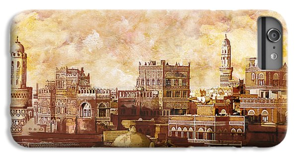 Castle iPhone 8 Plus Case - Old City Of Sanaa by Catf