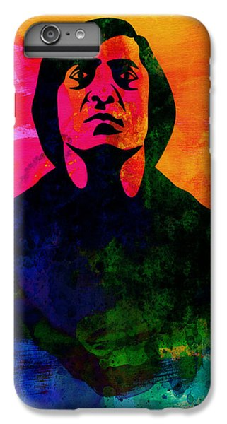 For iPhone 8 Plus Case - Old Man Watercolor by Naxart Studio