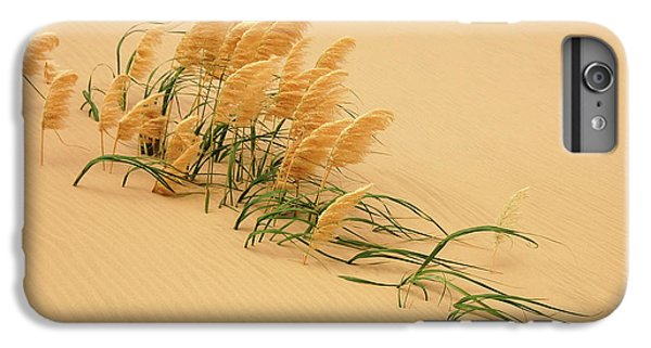 Sand iPhone 8 Plus Case - Pampas Grass In Sand Dune by Carl Bostek