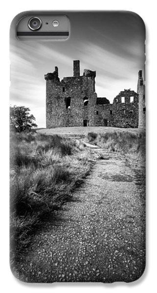 Castle iPhone 8 Plus Case - Path To Kilchurn Castle by Dave Bowman