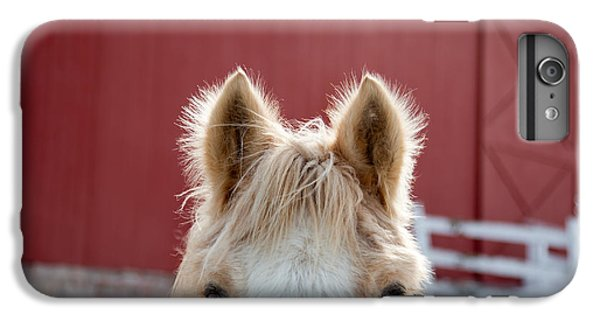 Horse iPhone 8 Plus Case - Peek A Boo by Courtney Webster