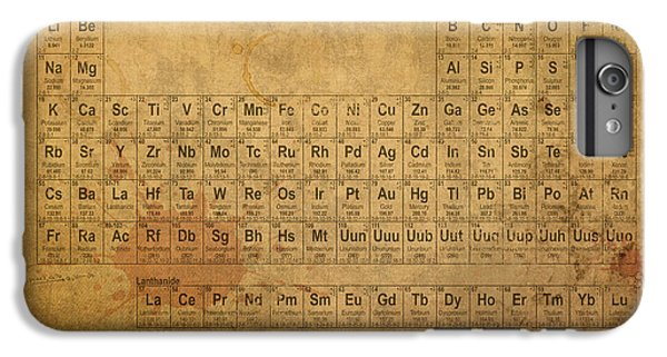 The iPhone 8 Plus Case - Periodic Table Of The Elements by Design Turnpike