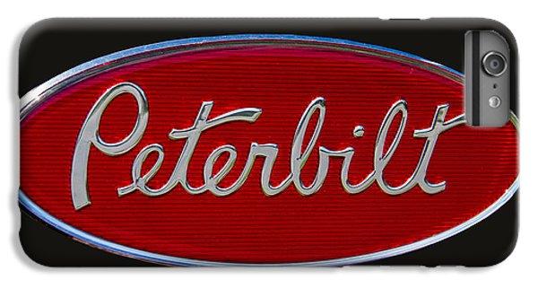 Truck iPhone 8 Plus Case - Peterbilt Semi Truck Emblem by Nick Gray
