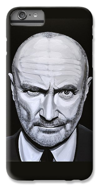 Trumpet iPhone 8 Plus Case - Phil Collins by Paul Meijering