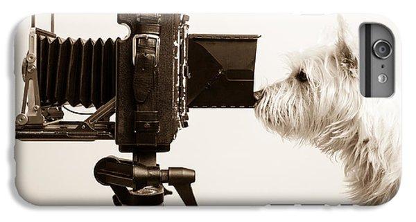 Dog iPhone 8 Plus Case - Pho Dog Grapher by Edward Fielding