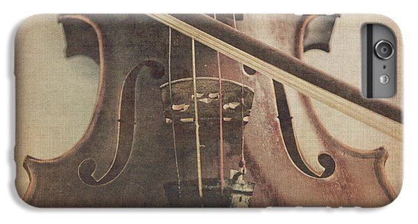 Violin iPhone 8 Plus Case - Play A Tune by Emily Kay