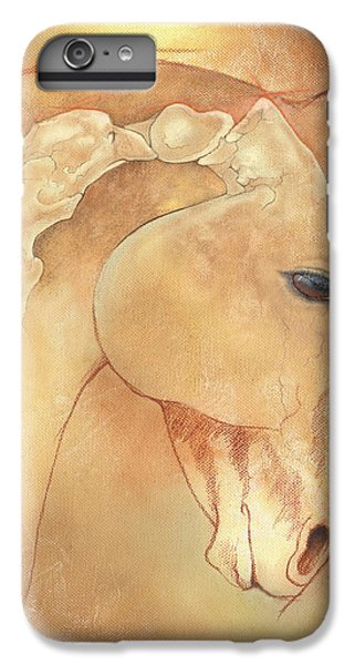 Horse iPhone 8 Plus Case - Poll Meet Atlas Axis by Catherine Twomey