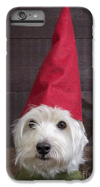 Elf iPhone 8 Plus Case - Portrait Of A Garden Gnome by Edward Fielding