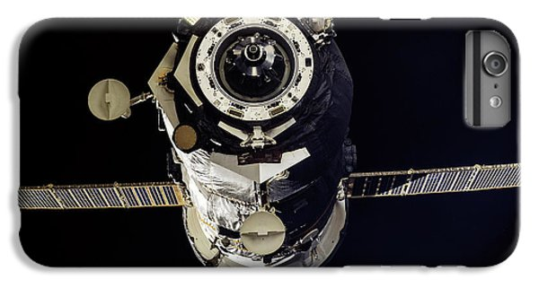 International Space Station iPhone 8 Plus Case - Progress 50 Departing The Iss by Nasa