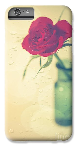 Rose iPhone 8 Plus Case - Raindrops On Roses . . . by Jan Bickerton