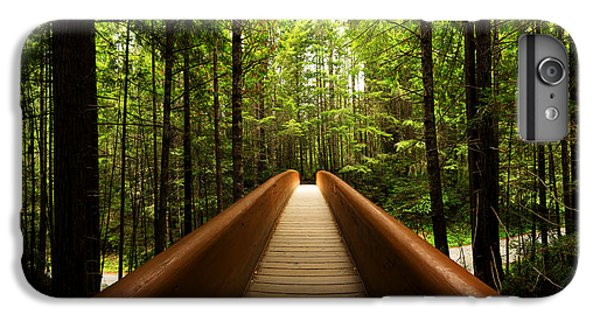 Shrub iPhone 8 Plus Case - Redwood Bridge by Chad Dutson