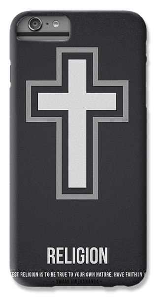 Cross iPhone 8 Plus Case - Religion by Aged Pixel