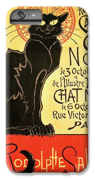 Cat iPhone 8 Plus Case - Reopening Of The Chat Noir Cabaret by Theophile Alexandre Steinlen