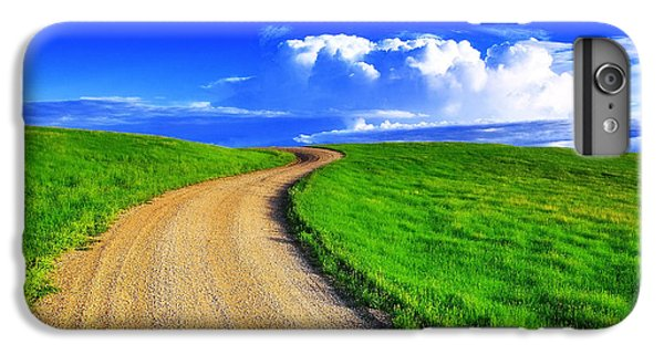 Rural Scenes iPhone 8 Plus Case - Road To Heaven by Kadek Susanto