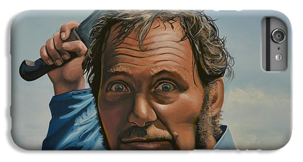 For iPhone 8 Plus Case - Robert Shaw In Jaws by Paul Meijering