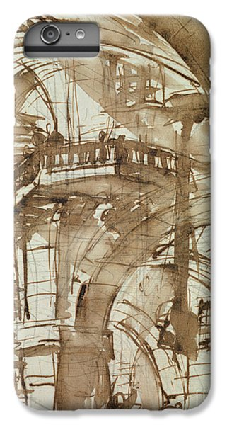 Dungeon iPhone 8 Plus Case - Roman Prison by Giovanni Battista Piranesi