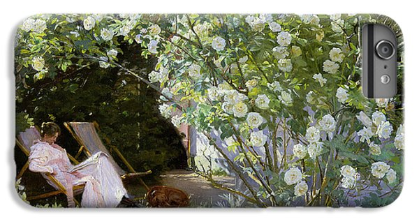 Rose iPhone 8 Plus Case - Roses by Peder Severin Kroyer