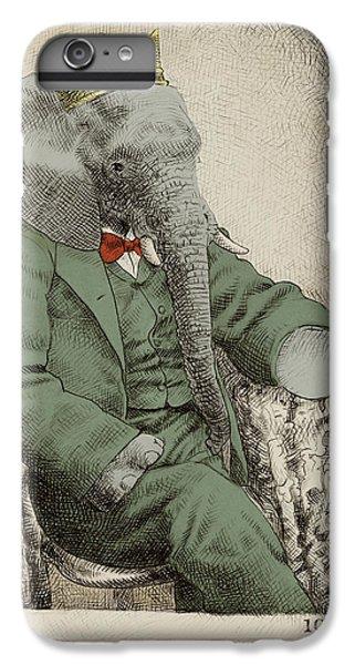 Animals iPhone 8 Plus Case - Royal Portrait by Eric Fan