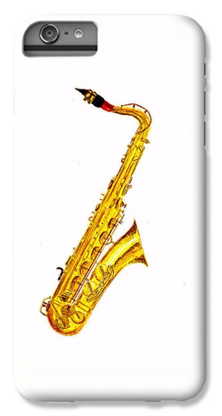 Saxophone iPhone 8 Plus Case - Saxophone by Michael Vigliotti