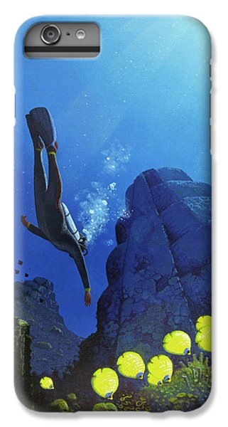 Scuba Diving iPhone 8 Plus Case - Scuba Diving by Mark Garlick/science Photo Library