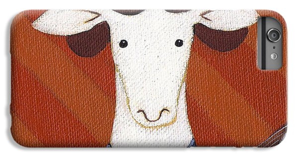 Sheep iPhone 8 Plus Case - Sheep Guitar by Christy Beckwith