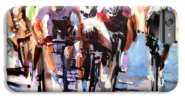 Bicycle iPhone 8 Plus Case - Short Sharp Sprint by Shirley  Peters
