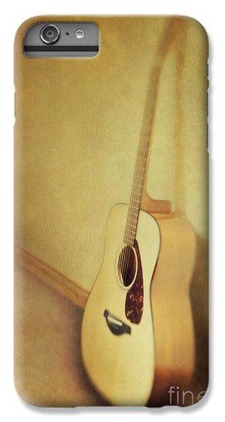Guitar iPhone 8 Plus Case - Silent Guitar by Priska Wettstein