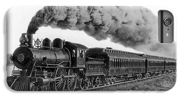 Train iPhone 8 Plus Case - Steam Locomotive No. 999 - C. 1893 by Daniel Hagerman