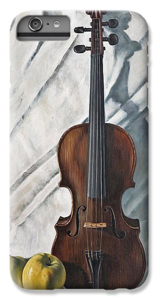 Violin iPhone 8 Plus Case - Still Life With Violin by John Lautermilch