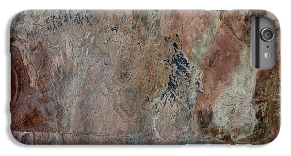 Red iPhone 8 Plus Case - Stone II by Linda Brody