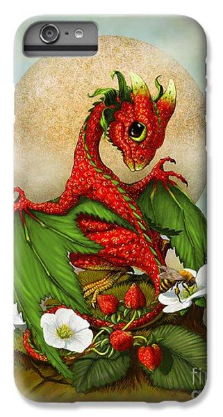 Dragon iPhone 8 Plus Case - Strawberry Dragon by Stanley Morrison