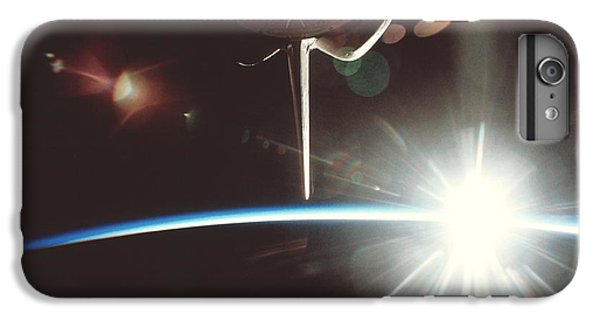 International Space Station iPhone 8 Plus Case - Sunburst by Nasa/science Photo Library