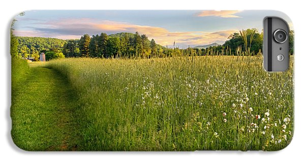 New England Barn iPhone 8 Plus Case - Sunny Valley Sunrise by Bill Wakeley