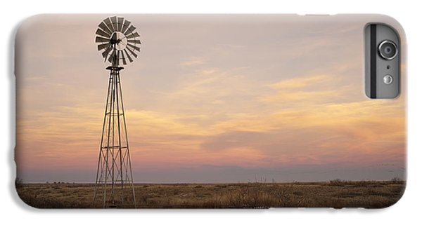 Rural Scenes iPhone 8 Plus Case - Sunset On The Texas Plains by Melany Sarafis