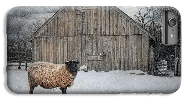 New England Barn iPhone 8 Plus Case - Sweater Weather by Robin-Lee Vieira