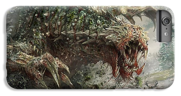 The iPhone 8 Plus Case - Tarmogoyf Reprint by Ryan Barger