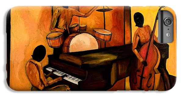 Drum iPhone 8 Plus Case - The 1st Jazz Trio by Larry Martin