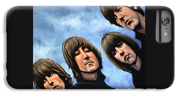 Rock And Roll iPhone 8 Plus Case - The Beatles Rubber Soul by Paul Meijering