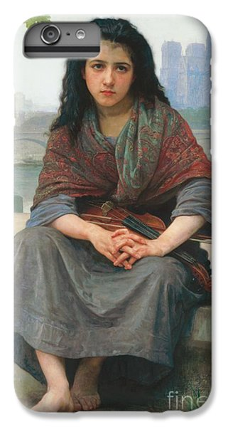 Violin iPhone 8 Plus Case - The Bohemian by William Adolphe Bouguereau