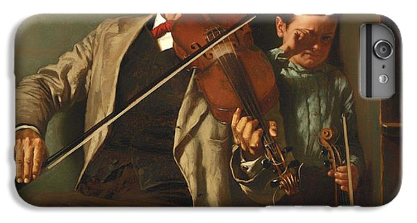 Violin iPhone 8 Plus Case - The Duet by Mountain Dreams