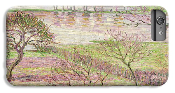 Impressionism iPhone 8 Plus Case - The Flood At Eragny by Camille Pissarro
