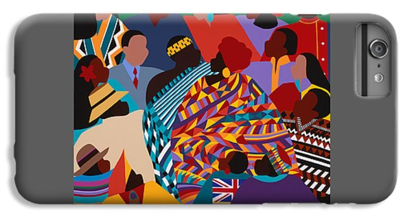 iPhone 8 Plus Case - The International Decade by Synthia SAINT JAMES