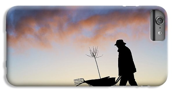 Garden iPhone 8 Plus Case - The Man Who Plants Trees by Tim Gainey