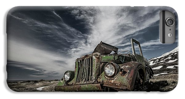 Truck iPhone 8 Plus Case - The Old Russian Jeep by Bragi Ingibergsson -